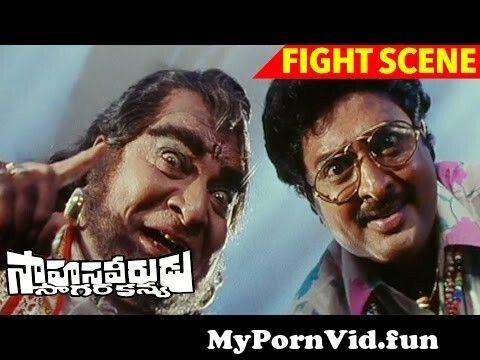 View Full Screen: venkatesh fights with goons to save shilpa shetty sahasa veerudu sagara kanya scenes.jpg
