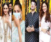 Television Actors Like Anita, Sanaya, Krystle, Karan, Vikas with many others visited Ekta Kapoor's Ganpati Celebration of 2021. Watch the full video for more details.