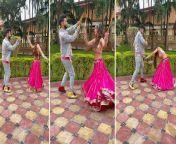 Nia Sharma Doing Garba with Rahul Vaidya on the occasion of Navratri 2021: WATCH VIDEO<br/><br/>#NiaSharma #RahulVaidya #Navratri2021