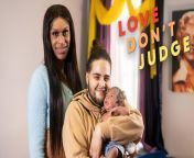 A TRANSGENDER MAN, from New York, who thought he was having stomach cramps has given birth to his son in his bathroom. Four years ago, 27-year-old transgender male Nino, met 22-year-old transgender female Joseline, through a dating site. Since the first day the couple met, they've been inseparable and can't remember spending a day apart. Formerly Nino described himself as a lesbian in man's clothes, but at around 18 years old Nino realised he was trans. Joseline, on the other hand, had a stronger sense of her transgender indentity and at a young age would dress in her mom's clothes and wear her makeup. But growing up Joseline didn't think she'd ever be able to live her life as a woman. Thankfully, Joseline was able to start taking hormones at age 18, so that she could become the woman she always knew she was. Like Joseline, Nino started taking hormones at a young age, which the couple believed would have eradicated all chances of them getting pregnant. However, much to their joy and disbelief, after days of complaining about stomach cramps and feeling nauseous, Nino unsuspectedly gave birth to his son. Nino thought his intestines were falling out of him - when in reality, it was the legs of his child. The surprise birth of their son shocked both Joseline and Nino, in the most part because Nino showed no symptoms throughout his pregnancy. Whilst the couple are grateful for their son, they are wary of the judgement he may face growing up as the son of trans parents. Despite the uncertainty over the future of his son's life, Nino says he is the happiest he's ever been.