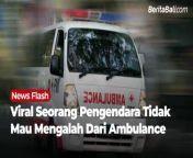Viral seorang pengendara diduga tidak mau mengalah dari Ambulance dibelakangnya. Pengemudi acungkan jempol kebawah, mendapatkan reaksi dari salah satu crew dalam mobil ambulance.<br/><br/>Mengutip priangantikur, aksi menghalangi ambulance dilakukan pengendara mobil Mitsubishi Xpander berplat nomor B 1651 ERC sebelum Terminal Jatijajar Jl. Raya Bogor, Cilodong, Depok, Jawa Barat. Jumat, 18 Juni 2021.<br/><br/>Menurut keterangan kru amblunace, saat itu ia bersama kru lainnya hendak menjemput pasien Tapos, Depok, Jawa Barat.<br/><br/>Simak Berita selengkapnya di :<br/>www.beritabali.com<br/><br/>#BeritaBali #Bali #BeritaBaliMedia #MediaOnlineBali<br/>======================================<br/>Connect with us on website and social media : <br/>WEBSITE : https://www.beritabali.com<br/>FACEBOOK : https://www.facebook.com/beritabalicom<br/>INSTAGRAM : https://www.instagram.com/beritabalimedia<br/>TWITTER : https://twitter.com/beritabalicom<br/>TIK TOK : https://www.tiktok.com/@beritabalicom<br/>DAILYMOTION : https://www.dailymotion.com/beritabalicom<br/>LINKEDIN : https://www.linkedin.com/in/beritabalicom<br/>YOUTUBE : https://www.youtube.com/beritabalicom<br/>======================================