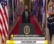North Korea accuses the US of using 'spurious' diplomacy _ Joe Biden _ Kim Jong-un _ World News