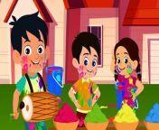 Aayi Hai Holi - Happy Holi - Holi Ke Mazedaar Bachhon Ke Gaane - Uppar Pankha Chalta Hai