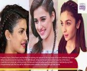 Learn the sexy hairdo style from Priyanka Chopra, Disha Patani and Alia Bhatt