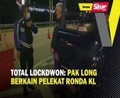 BERITA SEMASA 2 JUN 2021<br/><br/>Menteri Kanan Pertahanan, Datuk Seri Ismail Sabri Yaakob meraih perhatian warganet dalam satu video yang memaparkan beliau memandu kereta di sekitar Kuala Lumpur bagi memantau pelaksanaan 'total lockdown' yang bermula semalam.<br/><br/>Muzik: www.bensound.com<br/><br/>#SinarHarian #BeritaSemasa #IsmailSabri #Lockdown<br/>